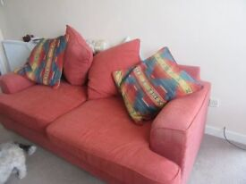 Couch and One chair with cushions