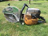 Petrol disc cutter