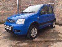 2006 Fiat Panda 4x4 1.2 *** FULL YEARS MOT *** similar to corsa fiesta polo ka 206 punto yaris clio