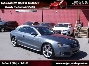 2012 Audi A5 2.0T Premium (S-LINE) AWD / 6-Speed Manual