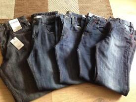 Boys jeans 11-12 yrs (x 5 )