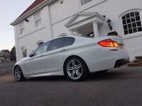BMW 5 Series 3.0 530d M Sport 4dr White FULLY SPECD