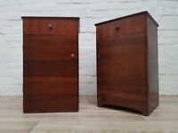 Pair Of 1950's Bedside Cabinets (DELIVERY AVAILABLE)