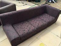 2 x Habitat Sofa's