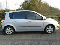 2004 Renault Scenic 1.9 Dci 120 Bhp 6 Speed Full Years Mot Mint Condition Inside & Out