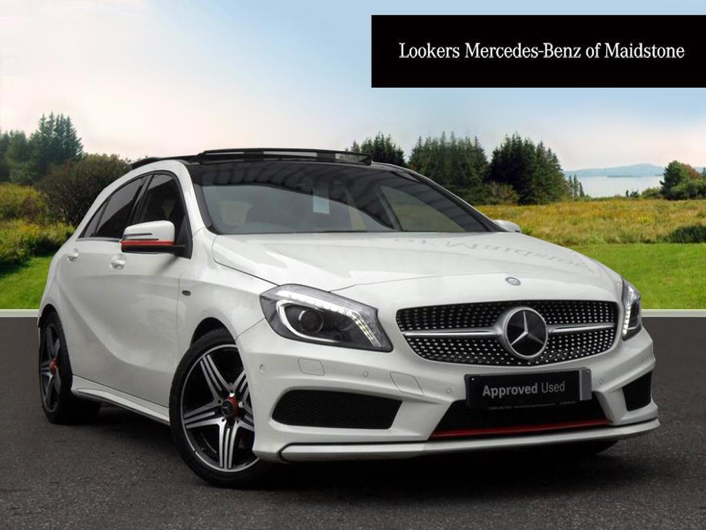Mercedes-Benz A Class A250 4MATIC ENGINEERED BY AMG (white) 2016-01-29