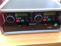 DJ twin CDN22 MK 111 Numark CD players in flight case