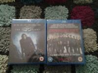 new blu rays the dark knight and the expendables 2 £4