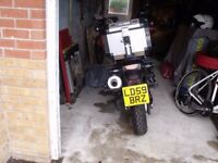 BMW 650 GS, abs/heated grips/new tyres/ new battery/alarm/ luggage/on board computer/ VGC.