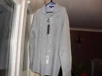 TOMMY HILFIGER SLIM FIT SHIRT - BRAND NEW WITH ALL TAGS - SIZE 16 1/2 INCH