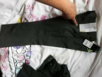 Girls slim fit school trousers age 4