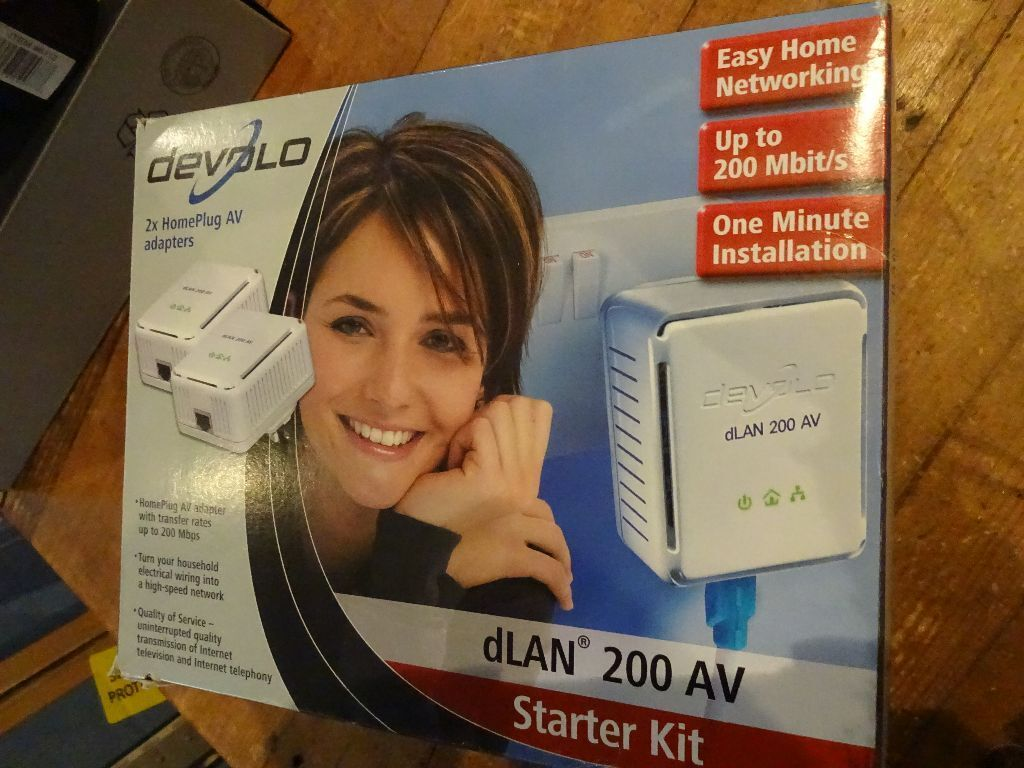 Devolo Homeplug Starter Kit Use Household Wiring As A Network In Home Plug