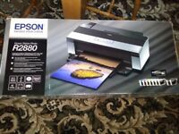 EPSON STYLUS PHOTO R2880 PRINTER WITH INKS (BOXED)