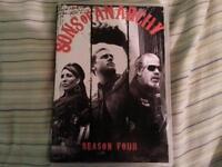 Sons of Anarchy Season 4 DVD Set $10