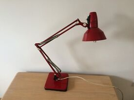 Classic anglepoise lamp