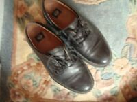 Pair of mens leather shoes