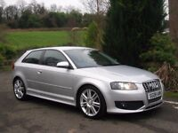 2008 AUDI S3 2.0 TFSI QUATTRO 265BHP **ONLY 71,000 MILES - FSH - CAMBELT DONE - STANDARD EXAMPLE**