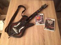 Nintendo Wii guitar hero