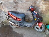 Suzuki AY50 Katana 50cc - Moped Scooter / Spares Project