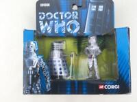 Dr who Cyberman and Dalek by Corgi.