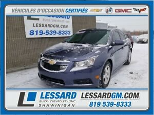 2014 CHEVROLET CRUZE LT TURBO LT, CLIMATISATION, BLUETOOTH, CAME