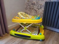 iSafe Playtime Baby Walker 3in1