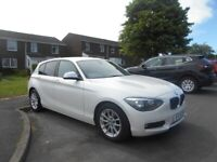 2012 BMW 116d SE 5 Door in Pearlescent White, 1 Yr Mot, not, vw golf, seat leon,audi a3