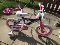 Girls 14inch bike new condition