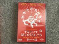 Twelve Monkeys DVD - bargain, only £1