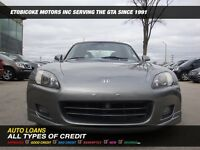 2000 Honda S2000 LEATHER/CONVERTIABLE