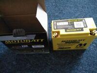 Brand new Motobatt battery £30