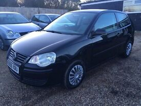 Volkswagen Polo 1.2 E 3dr 2006 IDEAL FIRST CAR EXCELLENT CONDITION CHEAP INSURANCE FULL SERVICE HIS