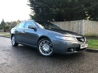 HONDA ACCORD 2.2 DIESEL + FULL SERVICE HISTORY + FULL BLACK HEATED LEATHER SEATS