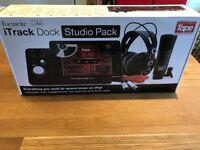 IDock studio pack recording pack.. NEVER USED