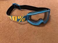 BMX goggles