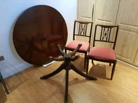 Table and 4x Chairs