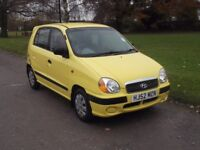 2002 HYUNDAI AMICA 1.0, MOT JUNE 2018, FSH, ONLY 64,000 MILES, NO ADVISORIES, ONLY £595