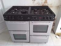 Used - New World 7 Burner Gas Cooker Range (PICK UP ONLY) £200