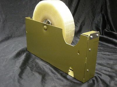 12 Inch Tape Dispenser 2 Wide 3 Core. Packaging Tape Dispenser Commercial Duty