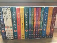 Complete series (1-10) of FRIENDS DVDs