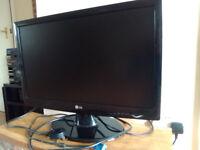 "LG 22"" Monitor screen"