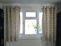 John Lewis curtains only 1 year old for sale ONLY £20! or nearest offer