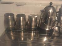 Next kettle tea coffee and suger canisters