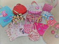 15 little girls handbags bags - fabulous clean condition
