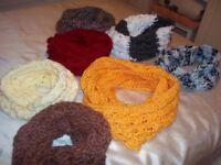Circular scarf/warm collar