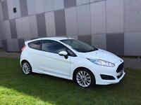 Ford Fiesta 1.0 EcoBoost 125 Zetec S 3dr (white) 2013