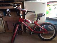 """16"""" Hot Wheel bike for boys"""