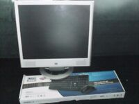 """HP vs17e 17"""" lcd 4:3 & also brand new in box keyboard and usb mouse"""