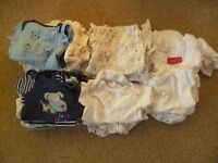 Baby newborn and 0-3 months clothes bundle