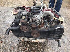 Breaking 1998 Subaru Impreza turbo complete engine inc turbo credit cards accepted